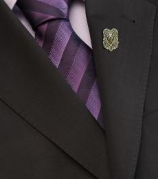 Pyrenean Shepherd brooch - Gold